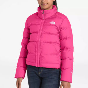 NEW THE NORTH FACE ANDES DOWN GIRLS JACKET PINK M
